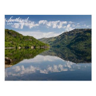Skottland - Loch Lomond vykort