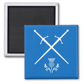 Skottland magnet - svärd & Thistle
