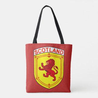 Skottland rött forntida våldsamt lejont tygkasse