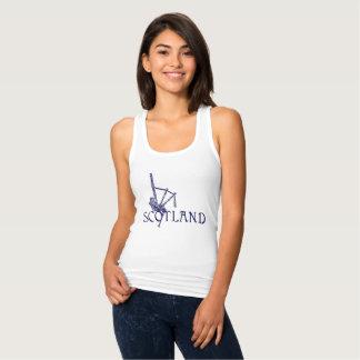 Skottland säckpipa, skotsk design t shirts