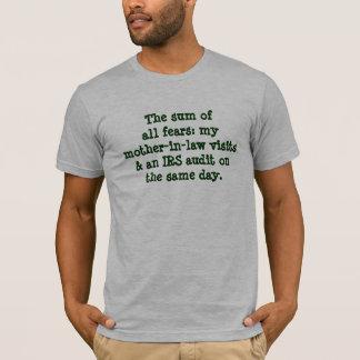 Skräck för summa allra: tee shirt