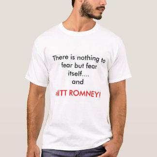 Skräck Mitt Romney Tshirts