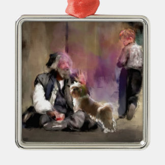 Skräck och Love_Painting.jpg Julgransprydnad Metall