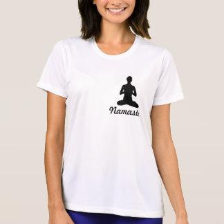 """""""Skräcken mindre"""" Yogaskjorta T Shirt"""