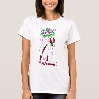 Skräddarsy brudtärnaskjorta - tee shirt