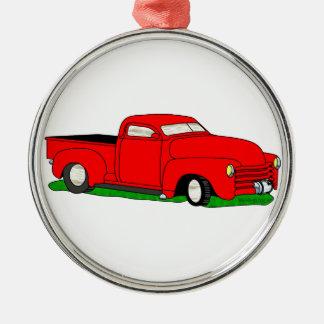 Skräddarsy Chevy uppsamling 1950 Julgransprydnad Metall