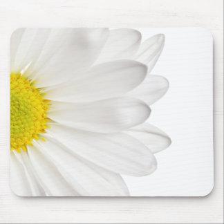 Skräddarsy daisy för vitdaisyblomma bakgrund musmattor