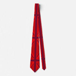 Skräddarsy den brittiska fackliga jacken för röd slips