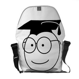 Skräddarsy den roliga studentengåvan hänger lös kurir väskor