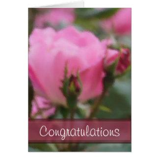 Skräddarsy den rosa tapestryen för Pk Hälsningskort