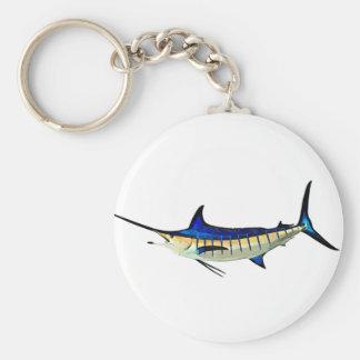 Skräddarsy denna Marlin med ditt fartygnamn Rund Nyckelring