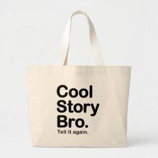 Skräddarsy ditt eget: Den kalla berättelsen Bro be Tote Bag