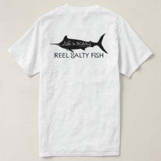 SKRÄDDARSY FISKA 🎣 för SALT FISK för Tee Shirts
