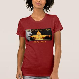 Skräddarsy guldålderObama Tshirt - Tshirts