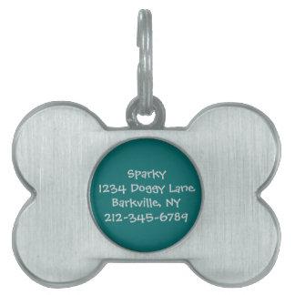 Skräddarsy hundmärkre (krickan) ID-bricka husdjur