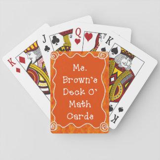 Skräddarsy leka kort för klassrumet casinokort
