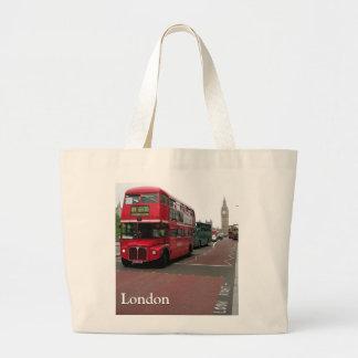 Skräddarsy London dubbeldäckarebuss Jumbo Tygkasse