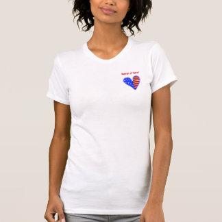 Skräddarsy matron för amerikan hjärta av tröja