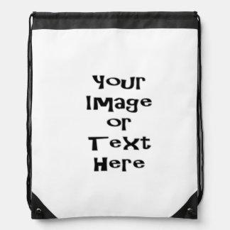 Skräddarsy med personligbilder och text gympapåse
