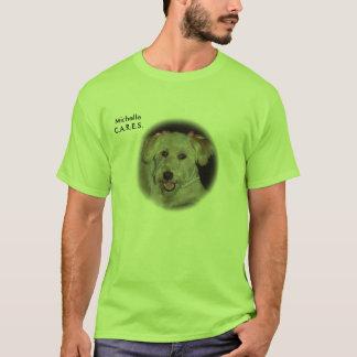 Skräddarsy OMSORGAR - Michelle - - skräddarsy T Shirt