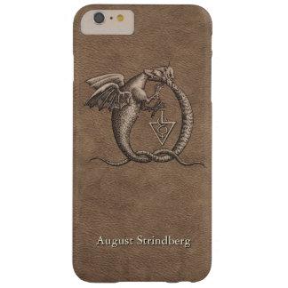 Skräddarsy Ouroboros drakeläder Barely There iPhone 6 Plus Fodral