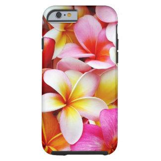 Skräddarsy PlumeriaFrangipaniHawaii blomma Tough iPhone 6 Case