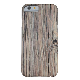 Skräddarsy riden ut Wood bakgrund - Barely There iPhone 6 Fodral
