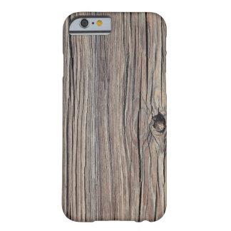 Skräddarsy riden ut Wood bakgrund - Barely There iPhone 6 Skal