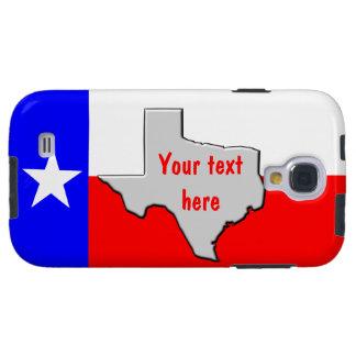 Skräddarsy Texas pride Galaxy S4 Fodral