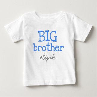 Skräddarsy tillfoga en känd blåtttextstorebror t-shirt