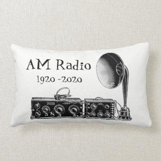 Skräddarsy vintageFÖRMIDDAGEN radiosände Lumbarkudde