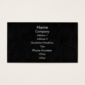 Skräddarsy visitkortar, svart spräcklig denim visitkort