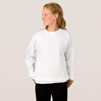 Skräddarsy XL-flickaHanes tröja