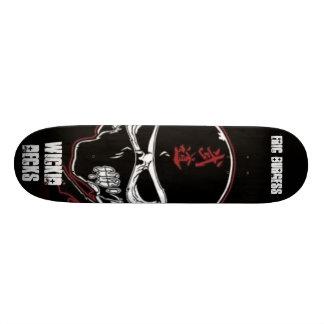 skräddarsy zombieninjastil - skateboard deck