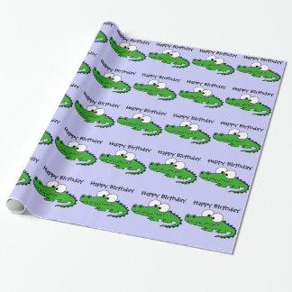 Skraj alligator presentpapper