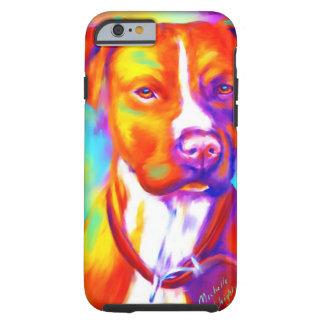 Skraj ängel - Pitbull Tough iPhone 6 Fodral