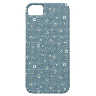 Skraj blåa blommor iPhone 5 Case-Mate cases