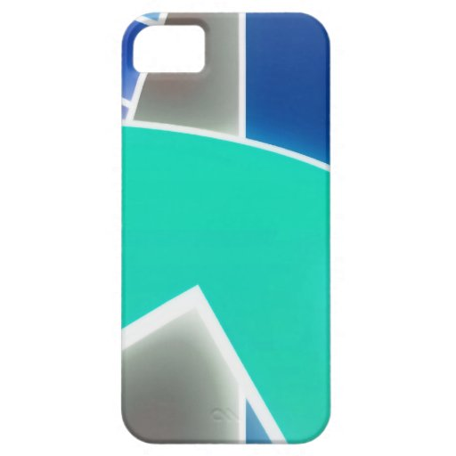 Skraj blått iPhone 5 fodral