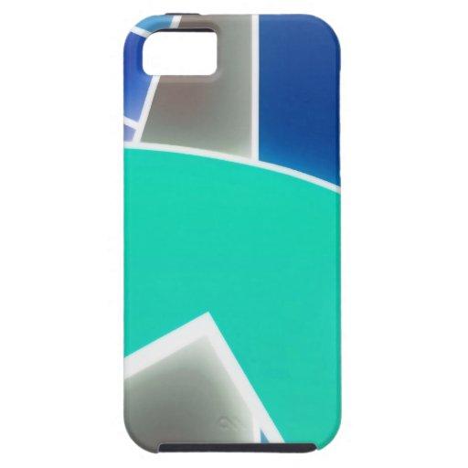 Skraj blått iPhone 5 skydd