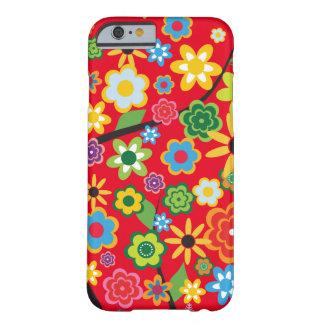 Skraj blommigt barely there iPhone 6 fodral