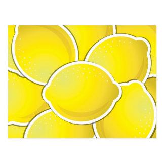 Skraj citron vykort