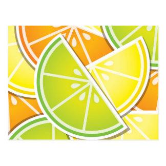Skraj citruskilar vykort