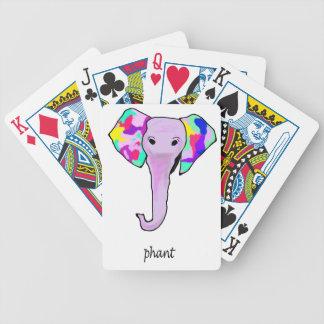 Skraj elefant spelkort
