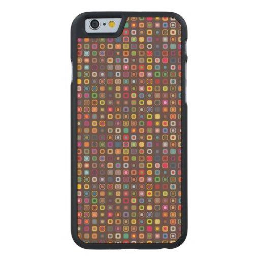 Skraj färger carved® lönn iPhone 6 slim fodral