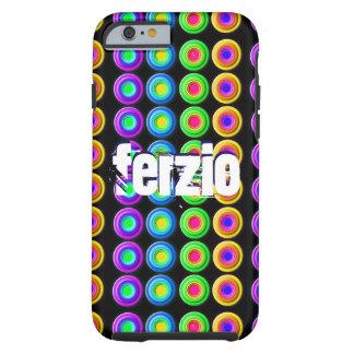 Skraj färgrik 3D cirklar Tough iPhone 6 Skal