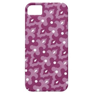 Skraj fodral för lilamönsteriPhone 5 iPhone 5 Case-Mate Skydd
