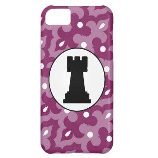 Skraj fodral för lilamönsteriPhone 5 iPhone 5C Skydd