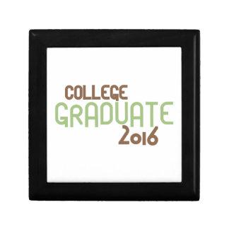 Skraj högskolastudent 2016 (grönt) minnesask