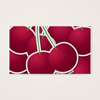 Skraj körsbär visitkort