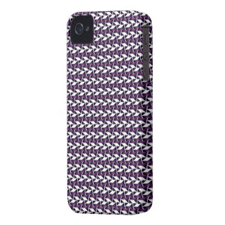 Skraj mönsterblackberry boldfodral iPhone 4 Case-Mate fodral
